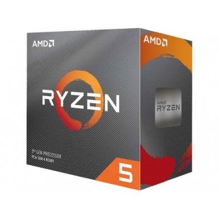 Slika CPU AMD Ryzen 5 3600X, 3.8 GHz (4.4 GHz), 6 Cores, 32MB L3 Cache, 7nm, 95W, AMD Wraith Spire cooler, AM4