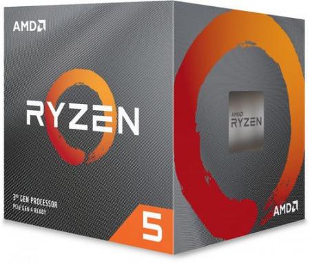 Slika CPU AMD Ryzen 5 3600XT, 3.8 GHz (4.5 GHz), 6 Cores, 32MB L3 Cache, 7nm, 95W, AMD Wraith Spire cooler, AM4