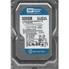 Slika HDD 320 GB WESTERN DIGITAL Blue, WD3200AAJS, 7200 rpm, 8MB, SATA 2 (fabricki reparirani diskovi)
