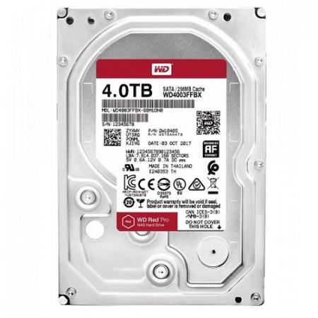 Slika HDD 4TB WESTERN DIGITAL Red Pro, WD4003FFBX , NAS, 7200 rpm, 256MB, SATA 3
