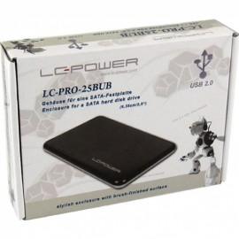 """Slika HDD rack LC POWER LC-PRO-25BUB, 2.5"""", SATA, USB 2.0, Black"""