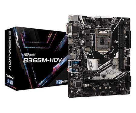 Slika MB Asrock B365M-HDV, Intel B365, s.1151