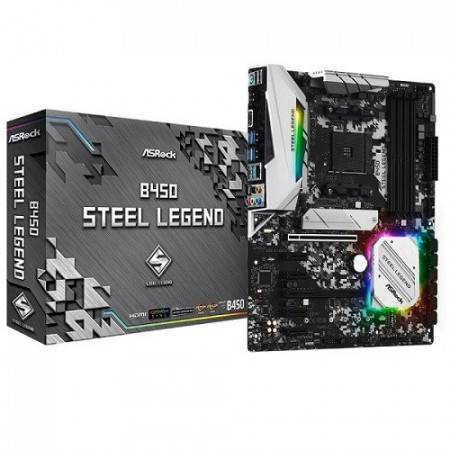 Slika MB ASROCK B450 STEEL LEGEND AMD B450, 4 x DDR4, AM4