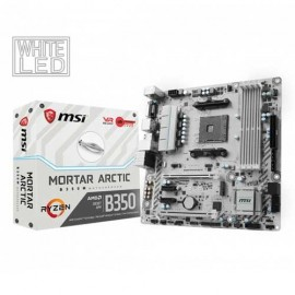 Slika MB MSI B350M MORTAR ARCTIC, AMD B350, 4x DDR4, AM4, mATX