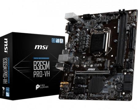 Slika MB MSI B365M-PRO-VH, Intel B365, s.1151