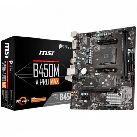 MB MSI B450M-A PRO MAX, AM4, AMD B450