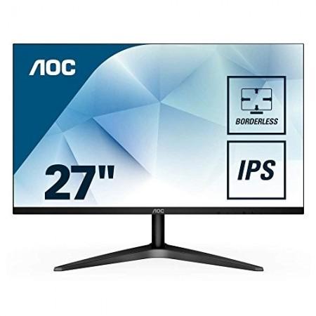 "Slika Monitor 27"" AOC 27B1H, IPS, LED, 16:9, FHD, D-SUB, HDMI, frameless design"
