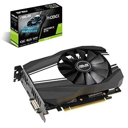 Slika VGA ASUS PH-GTX1660-O6G, nVidia GeForce GTX 1660Ti, 6GB DDR5, 192-bit