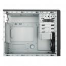 Kućište COOLER MASTER MasterBox E300L (MCB-E300L-KN5N-B02), micro ATX, silver trim, front 12 cm FAN