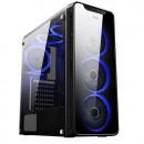 Kućište MS AQUARIUS PRO, 3x single ring RGB ventilator 12cm, 1x single ring RGB ventilator 12cm, 2 x USB 3.0, bez napajanja