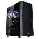 Kućište Zalman R2 BLACK, RGB FAN 120mm, glass, bez napajanja