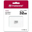 Micro SD 32GB TRANSCEND 300S, TS32GUSD300S, UHS-I, U3, class 10, 95/45 MB/s