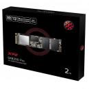 SSD 2TB ADATA Pro ASX8200PNP-2TT-C, PCIe Gen3x4, NVMe, up to 3500/3000MB/s