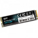 SSD 512GB Silicon Power SP512GBP34A60M28, PCIe Gen3 x4, NVMe, M.2 2280, 2200/1600 MB/s