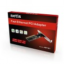 LAN card Netis AD-1101, 10/100 Mbit, PCI + LP Bracket