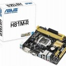 MB ASUS H81M-R/C/SI, Intel H81, 2xDDR3, s.1150