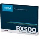 SSD 240GB CRUCIAL BX500, CT240BX500SSD1, 3D NAND, 540/500 MB/s, SATA 3