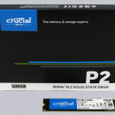 SSD 500GB CRUCIAL P2, CT500P2SSD8, PCIe Gen3x4, NVMe, 2300/940 MB/s