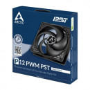 Ventilator za kućište Arctic P12 PWM PST, 12cm, 4 pin, black/black, ACFAN00120A
