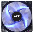 Ventilator za kućište MS PC COOL LED Blue, 12cm, 1000 rpm, MOLEX + 3 pin