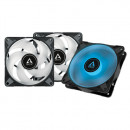 Arctic P12 PWM PST RGB 0dB Value Pack 3pcs, 12cm, 4 pin, ACFAN00230A