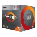 CPU AMD Ryzen 5 3400G, 3.7GHz (4.2GHz), Radeon™ Vega 11, 4 cores, AM4, BOX