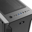 Kućište MS ARMOR V710 (bivsi TITAN 2 PRO), Tempered glass RGB, 4 x ARGB fan + controler, 2 x USB 3.0, bez napajanja
