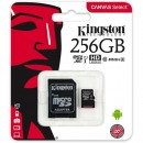 Micro SD 256GB KINGSTON Canvas Select SDCS/256GB, sa adapterom, UHS-I, class 10, 80MB/s read