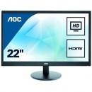 """Monitor 21.5"""" AOC E2270SWHN, LED, 16:9, FHD, D-SUB, HDMI"""