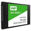 SSD 120GB Western Digital Green WDS120G2G0A, SATA III 6 Gb/s, read up to 545 MB/s