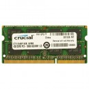 4 GB DDR3/1600 SO-DIMM, CRUCIAL CT51264BF160B, 1.35V, CL11