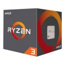 CPU AMD Ryzen 3 1200 AF, 3.1GHz (3.4GHz), 4 Cores, 10MB, 65W, AMD Wraith Stealth cooler, AM4