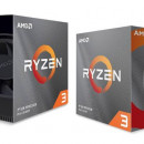 CPU AMD Ryzen 3 3300X, 3.8GHz (4.3GHz), 4C/8T, 18MB, 65W,, AM4. BOX
