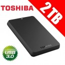 HDD External 2TB TOSHIBA CANVIO Basic, HDTB320EK3CA, USB 3.0, 8 MB, 5.400 rpm, 2.5""