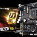 MB GIGABYTE GA-AB350M-HD3, AMD B350, s.AM4