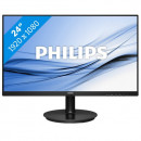 "Monitor 23.8"" PHILIPS 241V8L/00, VA, 16:9, FHD, 5 ms, VGA, HDMI, slim edges"