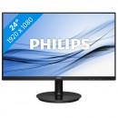 """Monitor 23.8"""" PHILIPS 241V8L/00, VA, 16:9, FHD, 5 ms, VGA, HDMI, slim edges"""