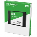 SSD 120GB Western Digital Green WDS120G1G0A, SATA III 6 Gb/s, read up to 540 MB/s