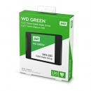 SSD 120GB Western Digital Green WDS120G2G0A, SATA III 6 Gb/s, read up to 545 MB/s