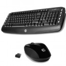 Tastatura + miš HP Wireless Classic Desktop, USB Wireless Nano receiver US, multimedial, black (LV290AA)