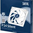 Ventilator za kućište Arctic F14 Silent, 14cm,