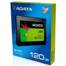 SSD 120GB ADATA Ultimate SU700, ASU700SS-120GT-C, 2.5″, 7mm, SATA 3, read up to 560 MB/s, retail