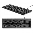 Tastatura HP K1500, US, USB, black (H3C52AA)
