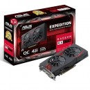 VGA ASUS AMD Radeon RX 570, EX-RX570-O4G, 4GB DDR5, 256-bit