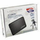 "HDD rack LC POWER LC-25BUB3, 2.5"", SATA, USB 3.0, aluminium/plastic, Black"