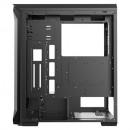 Kućište MS TITAN II PRO, Tempered glass RGB, 4 x ARGB fan + controler, 2 x USB 3.0, bez napajanja