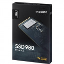 SSD 1 TB SAMSUNG 980 MZ-V8V1T0BW, PCIe Gen 3.0 x4, NVMe 1.4, 3500/3000 MB/s