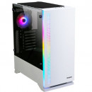 Kućište Zalman S5 WHITE, RGB FAN 120mm, bez napajanja