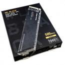 SSD 500GB Western Digital Black SN850 NVMe, WDS500G1X0E,Gen4 x4, M.2 2280, 7000/4100 MB/s