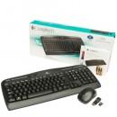 Tastatura + miš LOGITECH MK330 Wireless Combo, US, unifying receiver, Black